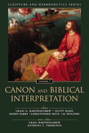 Canon and Biblical Interpretation book image