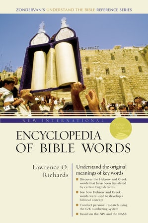 New International Encyclopedia of Bible Words book image