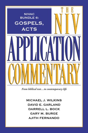 NIVAC Bundle 6: Gospels, Acts book image