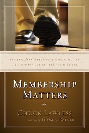 Membership Matters book image