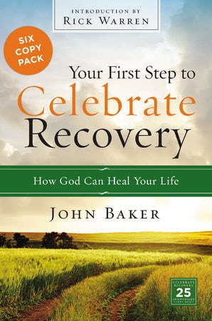 Your First Step to Celebrate Recovery Pack book image