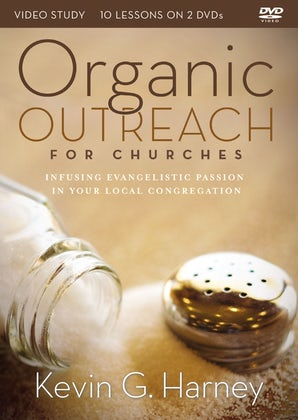 Organic Outreach for Churches Video Study book image
