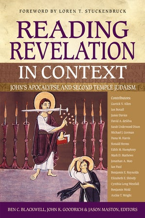 Reading Revelation in Context book image