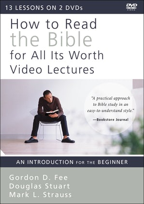How to Read the Bible for All Its Worth Video Lectures book image