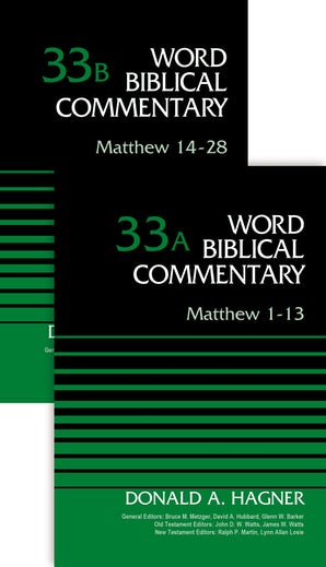 Matthew (2-Volume Set---33A and 33B) book image