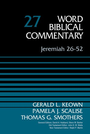 Jeremiah 26-52, Volume 27 book image