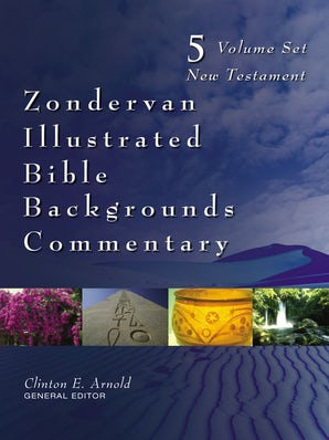 Zondervan Illustrated Bible Backgrounds Commentary Set book image