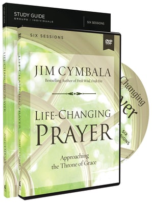 Life-Changing Prayer Study Guide with DVD book image