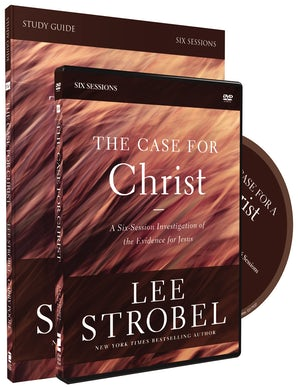 The Case for Christ Study Guide with DVD book image