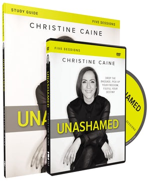 Unashamed Study Guide with DVD book image