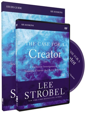 The Case for a Creator Study Guide with DVD book image