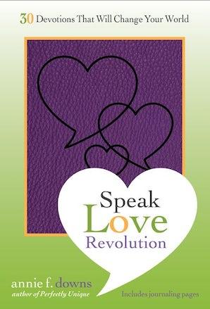 Speak Love Revolution book image