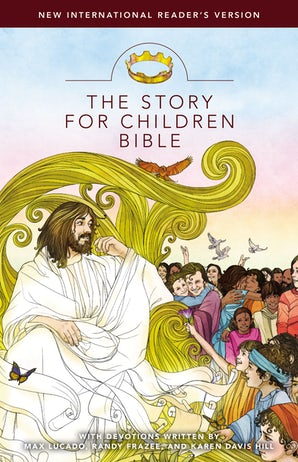 NIrV, The Story for Children Bible, Hardcover book image