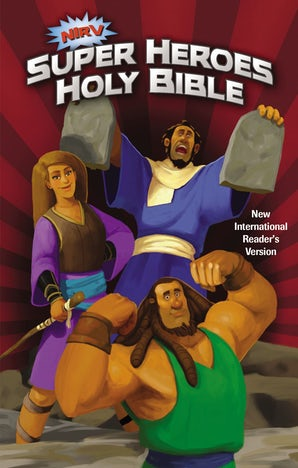 NIrV, Super Heroes Holy Bible, Hardcover book image