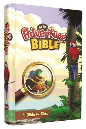 NKJV, Adventure Bible, Hardcover, Full Color