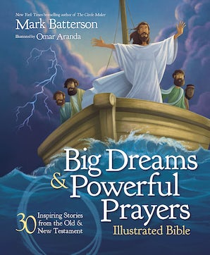 Big Dreams and Powerful Prayers Illustrated Bible book image