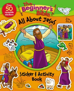 The Beginner's Bible All About Jesus Sticker and Activity Book book image