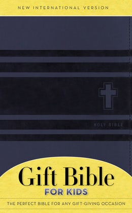NIV, Gift Bible for Kids, Leathersoft, Blue