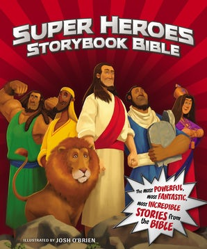 Super Heroes Storybook Bible book image