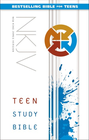 NKJV, Teen Study Bible, Hardcover book image