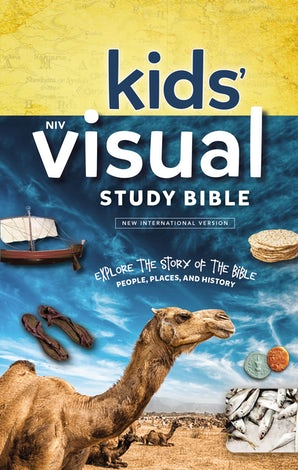 NIV, Kids' Visual Study Bible, Hardcover, Full Color Interior