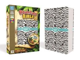 NIV, Adventure Bible, Leathersoft, Zebra Print, Full Color Interior