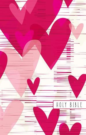 NIV, Gift Bible for Kids, Paperback, Large Print, Pink