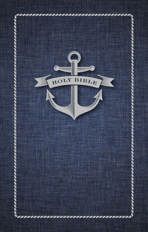 NIV, Gift Bible for Kids, Paperback, Large Print, Blue