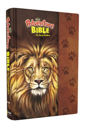 NIrV, Adventure Bible for Early Readers, Hardcover, Full Color Interior, Lion book image