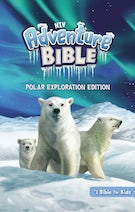 NIV Adventure Bible, Polar Exploration Edition, Hardcover, Full Color