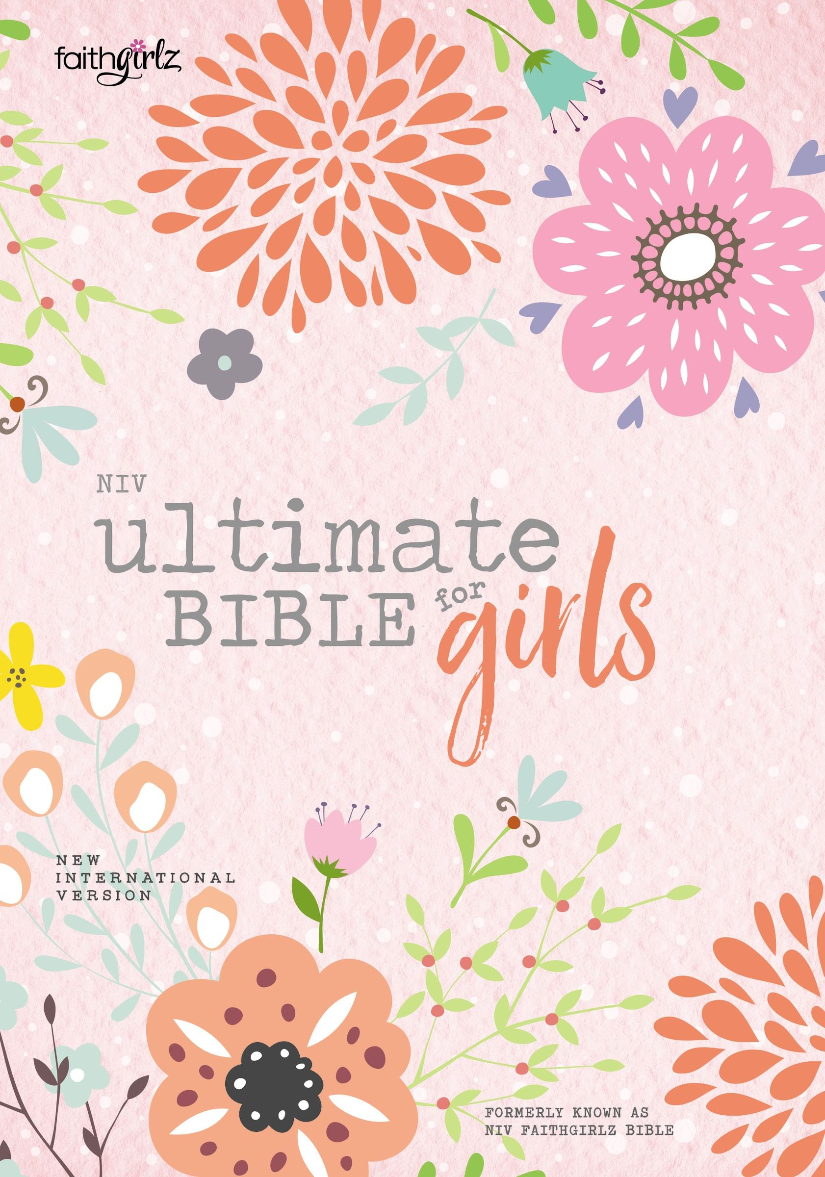 NIV, Ultimate Bible for Girls, Hardcover