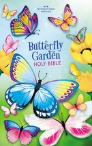 NIV Butterfly Garden Holy Bible, Hardcover, Comfort Print