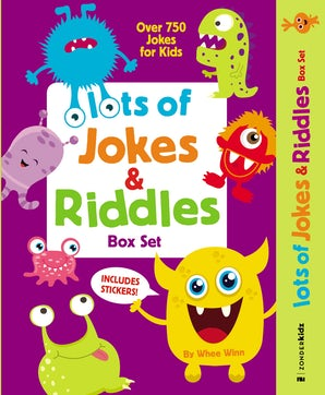 Lots of Jokes and Riddles Box Set book image