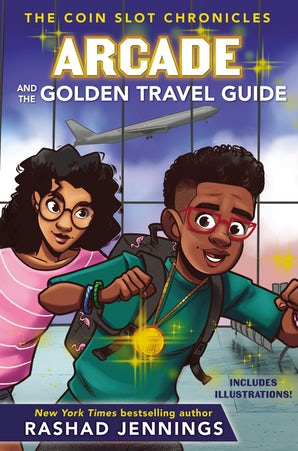 Arcade and the Golden Travel Guide book image