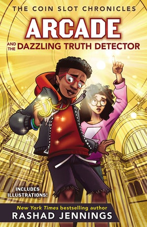 Arcade and the Dazzling Truth Detector book image