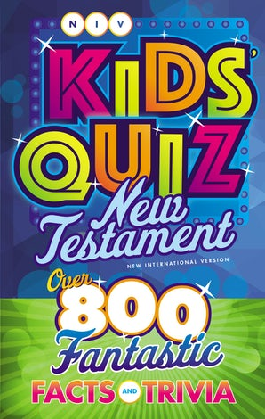 NIV, Kids' Quiz New Testament, Paperback, Comfort Print book image
