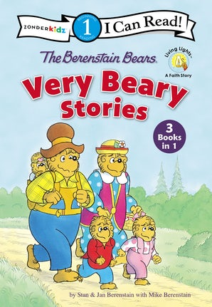 The Berenstain Bears Very Beary Stories book image