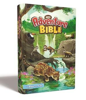 NRSV, Adventure Bible, Hardcover, Full Color Interior, Comfort Print book image