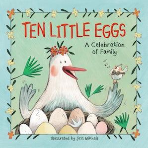 Ten Little Eggs book image