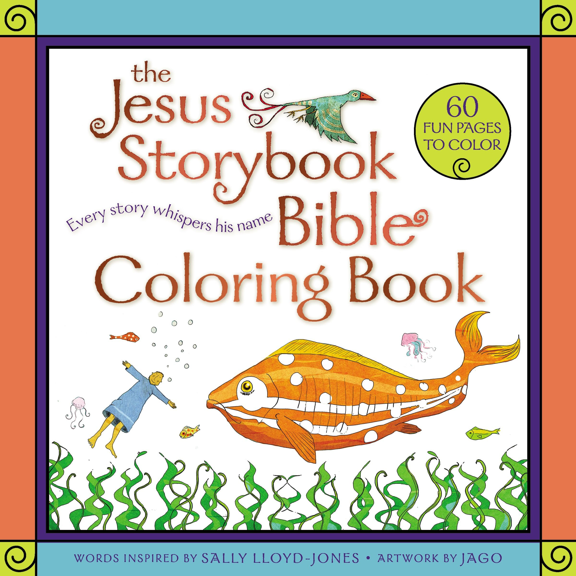 The Jesus Storybook Bible Coloring Book For Kids