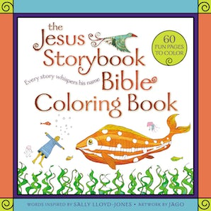 The Jesus Storybook Bible Coloring Book for Kids book image