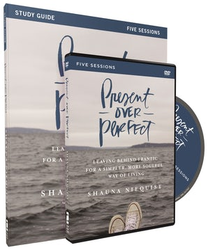 Present Over Perfect Study Guide with DVD book image