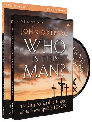 Who Is This Man? Study Guide with DVD book image