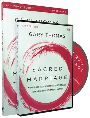 Sacred Marriage Participant's Guide with DVD book image