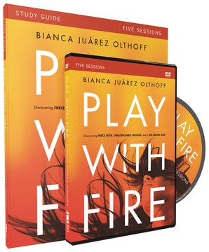 Play with Fire Study Guide with DVD book image