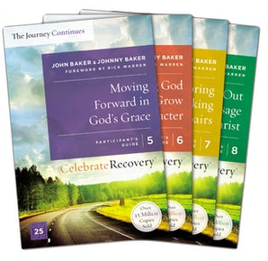 Celebrate Recovery: The Journey Continues Participant's Guide Set Volumes 5-8 book image