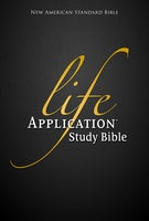 NASB, Life Application Study Bible, Hardcover