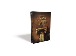 NASB, Zondervan NASB Study Bible, Hardcover, Red Letter Edition