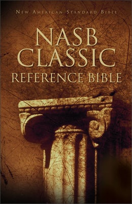Nasb Classic Reference Bible Hardcover Red Letter Edition