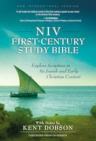 NIV, First-Century Study Bible, Hardcover, Teal
